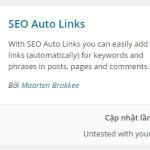 ONPAGE WP 12: Plugin SEO Auto Links, Tự động chèn Links Bài Viết