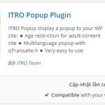 ONPAGE WP 14: ITRO Popup Plugin, Quảng cáo toàn trang cho WordPress