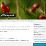 Hướng dẫn Đóng Dấu Bản Quyền Hình Ảnh (Chèn Logo Mờ) Tự động với Plugin Easy Watermark cho WP