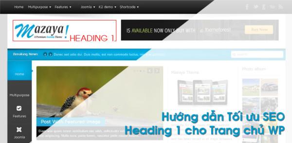 heading 1 homepage
