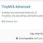 ONPAGE WP 13: TinyMCE Advanced – Khung soạn thảo đa chức năng WordPress
